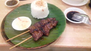 2 Pcs Barbecue with Garlic Rice Inasal Chicken Bacolod