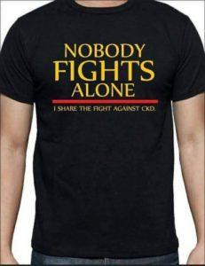 Nobody Fights Alone Black Shirt