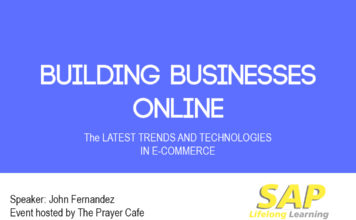 Building Businesses Online Seminar