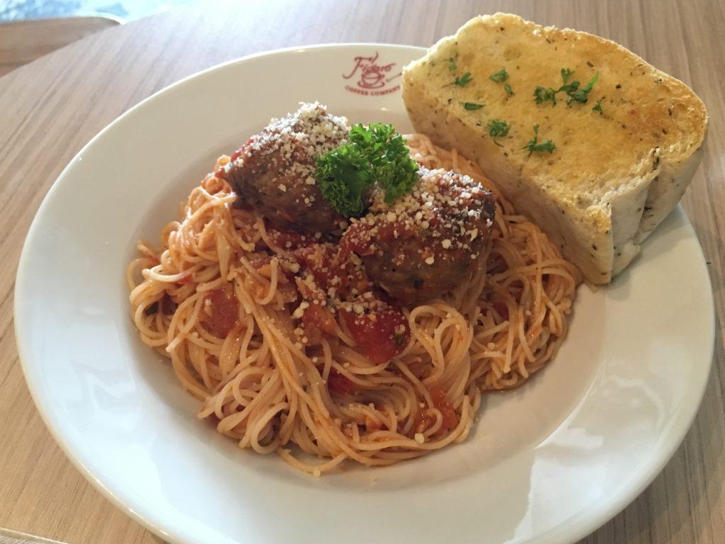 Figaro's Italian Meatball Bolognese Pasta